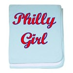 Philly Girl baby blanket
