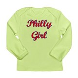 Philly Girl Long Sleeve Infant T-Shirt