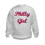 Philly Girl Kids Sweatshirt