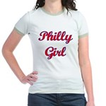 Philly Girl Jr. Ringer T-Shirt