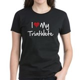 I heart my triathlete Tee