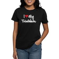 I heart my triathlete Tee
