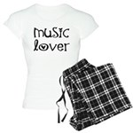 Ladies Music Pajamas For the Musician.