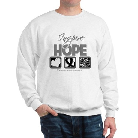 Melanoma Inspire Hope Sweatshirt