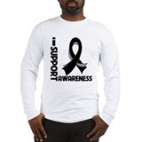 Melanoma I Support Awareness Long Sleeve T-Shirt