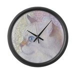 Grace in the morning Large Wall Clock