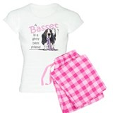 Basset Girls Friend pajamas