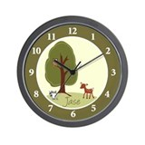 Woodland Deer Wall Clock - Jase