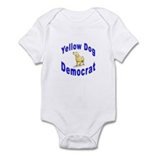 Yellow Dog Democrat Infant Creeper