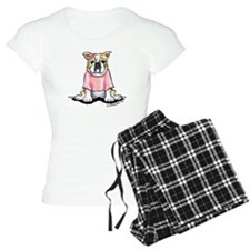 Girly Bulldog Pajamas