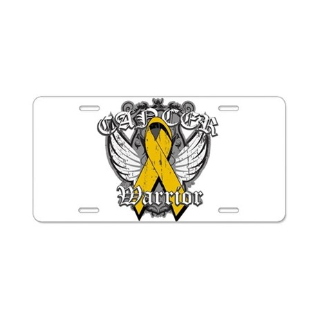 Appendix Cancer Warrior Aluminum License Plate