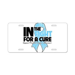 In The Fight Prostate Cancer Aluminum License Plat