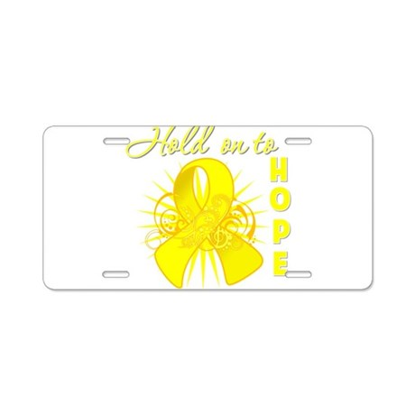 Sarcoma Aluminum License Plate