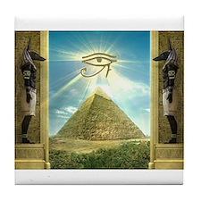 Cute Egyptian Tile Coaster