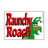 Raunchy Roach Postcards (Package of 8)