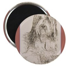 "Bearded Collie 2.25"" Magnet (100 pack)"
