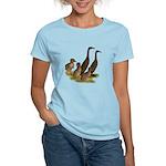 Chocolate Runner Duck Family Women's Light T-Shirt