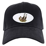Chocolate Runner Duck Family Black Cap