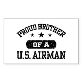 Proud Brother of a US Airman Decal