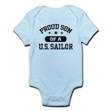 Proud Son of a US Sailor Onesie