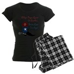 Whips, and leather Women's Dark Pajamas