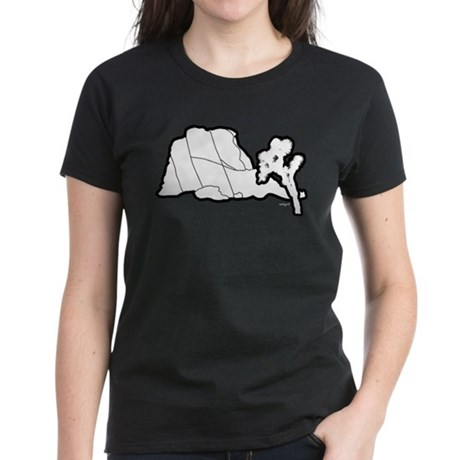 Jtree and Intersection Rock Women's Dark T-Shirt