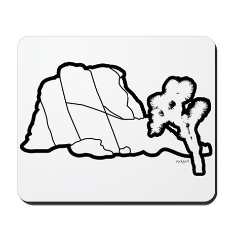 Jtree and Intersection Rock Mousepad