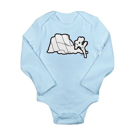 Jtree and Intersection Rock Long Sleeve Infant Bod