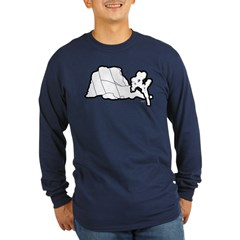Jtree and Intersection Rock Long Sleeve Dark T-Shi