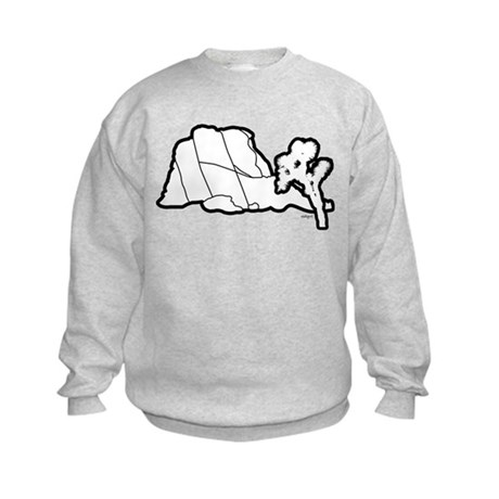 Jtree and Intersection Rock Kids Sweatshirt