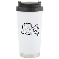 Jtree and Intersection Rock Ceramic Travel Mug