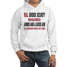 REAL BORDER SECURITY Hoodie