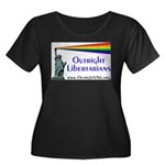 Outright Libertarians Women's Plus Size Scoop Neck