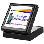 Outright Libertarians Keepsake Box