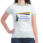 Outright Libertarians Jr. Ringer T-Shirt