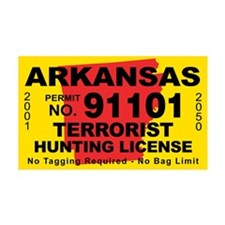 Arkansas Terrorist Hunting Li 38.5 x 24.5 Wall Pee