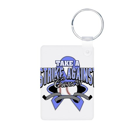 Take a Strike Esophageal Aluminum Photo Keychain