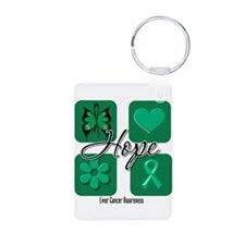 Hope Liver Cancer Keychains