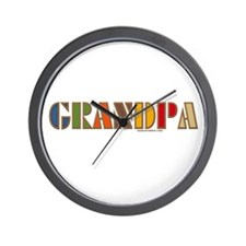 GRANDPA Wall Clock