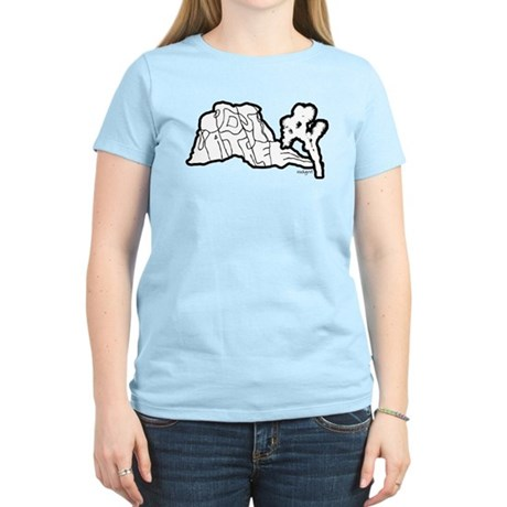 Joshua Tree and Intersection Women's Light T-Shirt