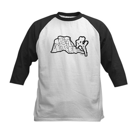 Joshua Tree and Intersection Kids Baseball Jersey