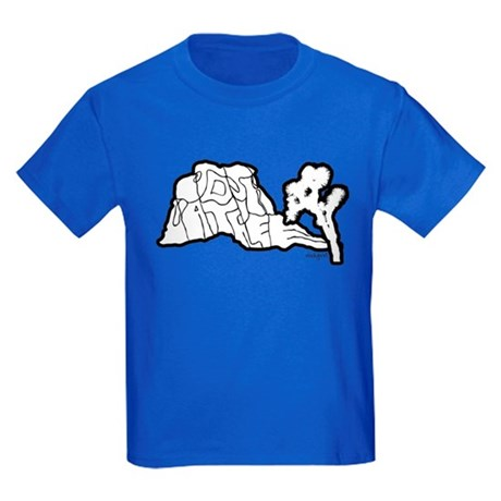 Joshua Tree and Intersection Kids Dark T-Shirt