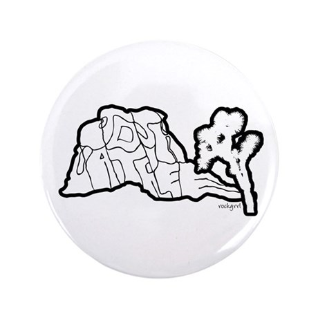 "Joshua Tree and Intersection 3.5"" Button"