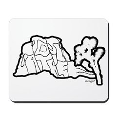 Joshua Tree and Intersection Mousepad