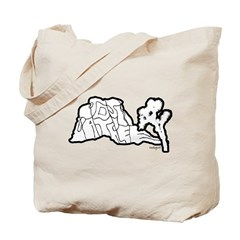 Joshua Tree and Intersection Tote Bag
