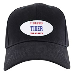 I BLEED TIGER BLOOD Black Cap