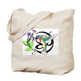 Hummingbird Tribal Tote Bag