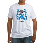 Acocks Coat of Arms Fitted T-Shirt