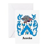 Acocks Coat of Arms Greeting Cards (Pk of 10)