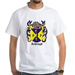 Ackroyd Coat of Arms White T-Shirt